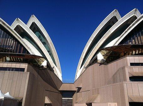 Sydney, Oprah House, Austrailia, Travel, Sky