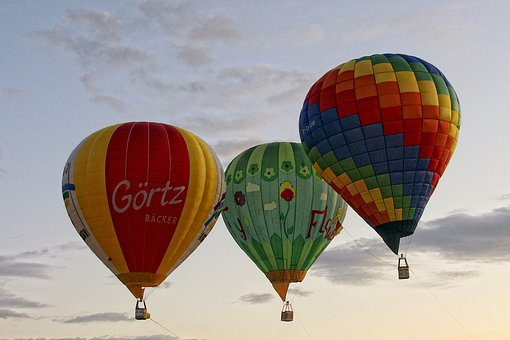 Heissluftbaloone, Fly, Baloons