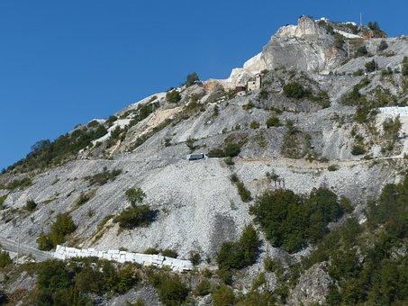 Carrara Marble, Blocks, Quarry