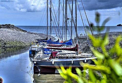 Porlock, Boats, Somerset