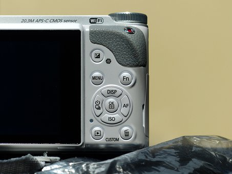 Photo, Camera, Operating Elements, Navigation Elements