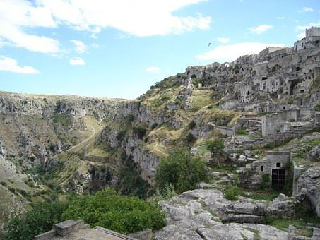 Matera Caves, Cave Dwellings, Southern Italy