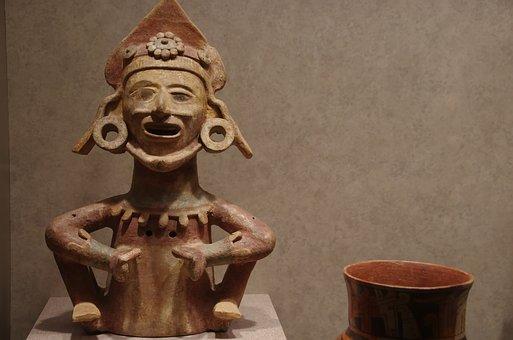 Mexico, Ethnographic Museum, Terracotta, Columbian