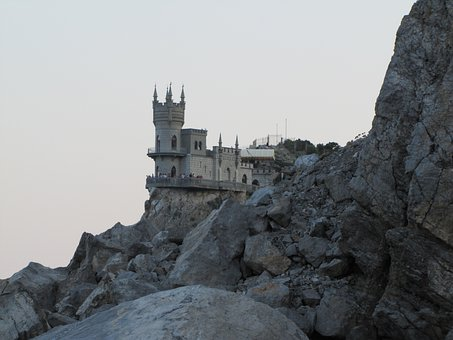 Crimea, Rocks, Swallow's Nest, Castle