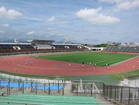 Atsubetsu, Stadium, Sapporo, Japan, Football, Soccer
