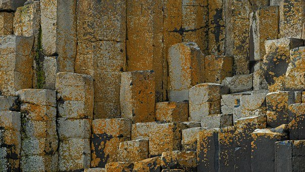 Ireland, Giant Causeway, Stones
