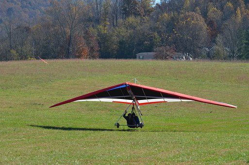 Hang Gliding, Delta-flying, Flying, Hang Glider