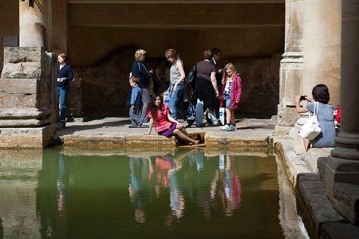 Roman Baths, Bath, Somerset, Ancient, Historic