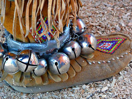Mocassin, Shoe, Native, Indian, Footwear, Leather
