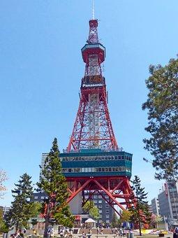 Japan, Sapporo, Urban, Architecture, Buildings, City