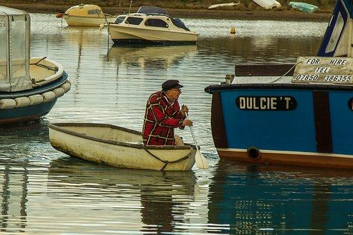 Keyhaven, The Old Man, Sea, Ocean