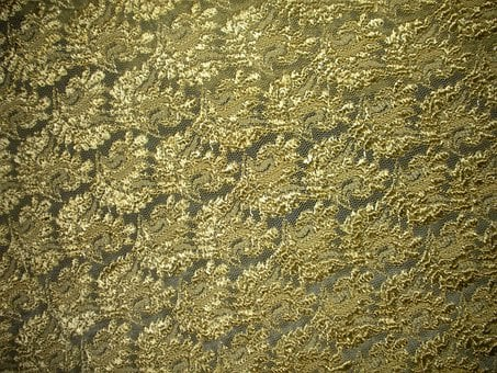 Lace, Gold, Background, Texture, Pattern, Decorative