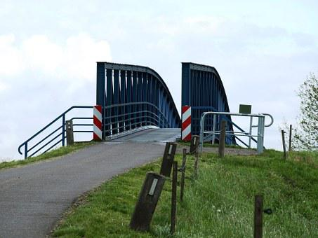Amdorf, Leda, Narrowest Bridge In Germany, Narrow