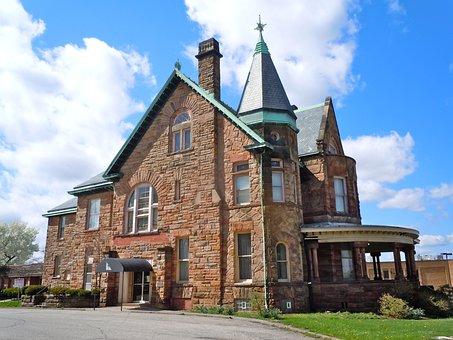 Mansfield, Martin Bushnell House, Richland County, Ohio