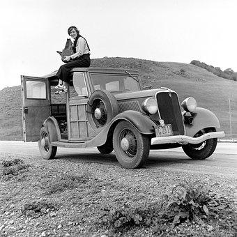 Oldtimer, Automotive, Ford, Car Model V8, Model 68