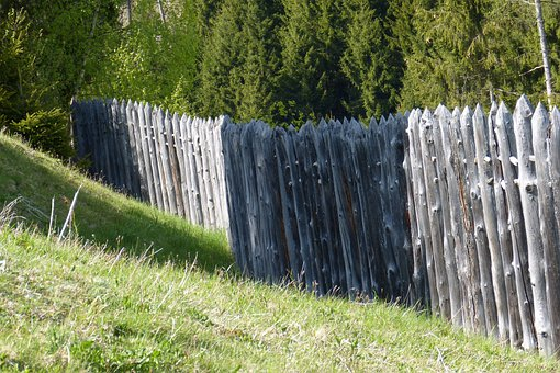 Celts Village, Palisade, Military Fence, Fence