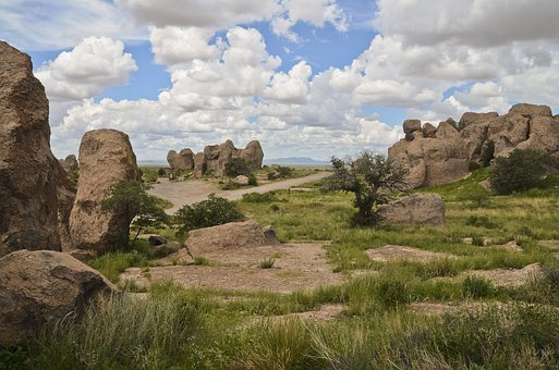 Rockhound Park, New Mexico, Rockhound, Landscape