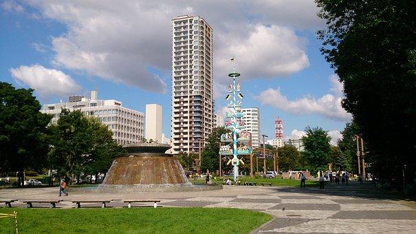 Hokkaido, Sapporo, Odori Park