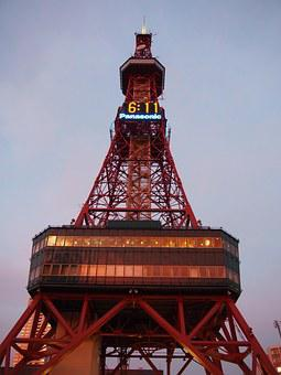 Tower, Tourist Attraction, Architecture, Sapporo Tower