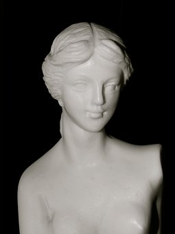 Statue, Marble, Carrara, Bust, Fig