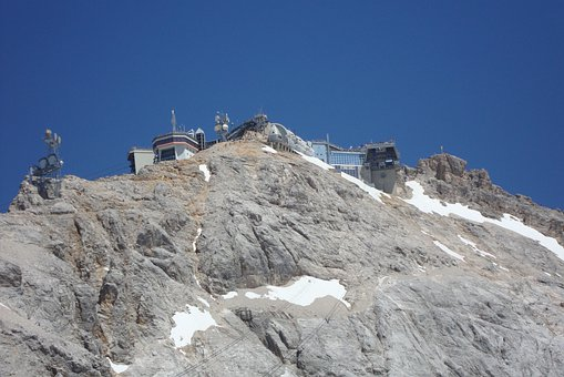 Zugspitze, Summit, Alpine, Mountain, Mountain Station