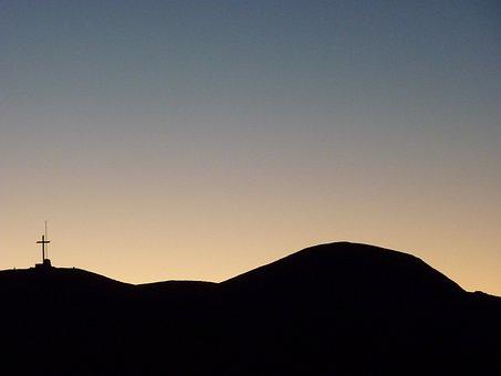 Argentina, Sunset At Desert, Andes, Landscape