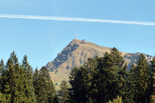 Kitzbüheler Horn, Mountain Peak, Transmission Tower