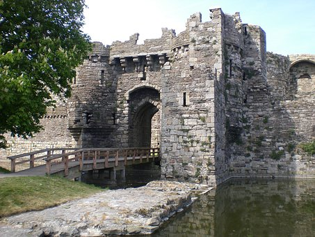 Beaumaris, Castle, Anglesey, Wales, United Kingdom