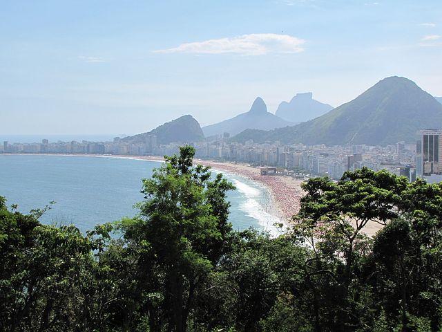 Brazil, Rio De Janeiro, Rudder, Mar, Beach, Green
