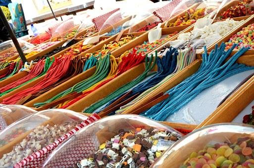Candy, Sweet, Colorful, Market, Brand, Color, Food