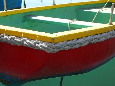 Fishing, Port, Malta, Marsaxlokk, Dew, Woven, Colorful