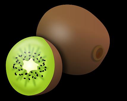 Kiwi, Kiwifruit, Fruit, Tropical, Slice, Food, Fresh