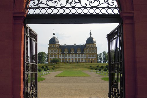 Schloss Seehof, Gateway Arch Views, Blacksmithing