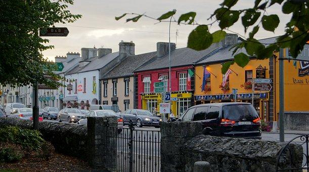 Adare, Ireland, Town, Limerick, Irish, Structure, Stone