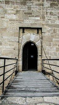 Cyprus, Kolossi, Castle, Medieval, History, Entrance