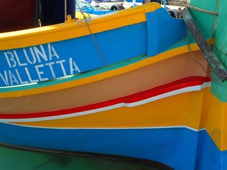 Fishing, Port, Malta, Marsaxlokk, Fishing Boat