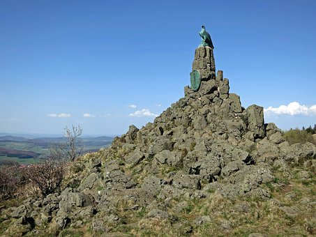 Monument, Aviator Monument, Wasserkuppe