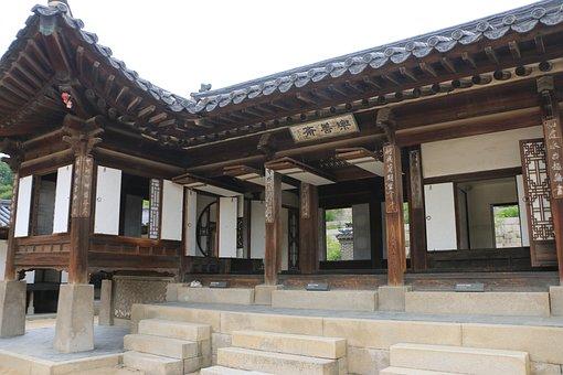 Republic Of Korea, Changdeokgung, Nakseonjae, Palaces