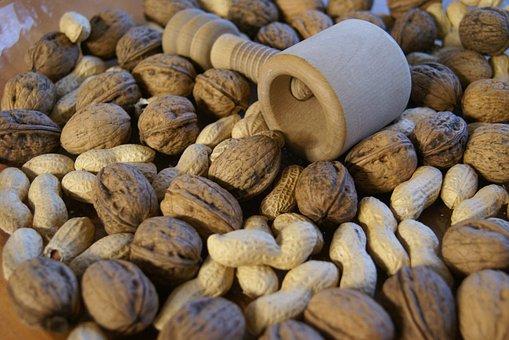 Nutcracker, Tree Nut, Peanut, Delicious, Nibble, Market