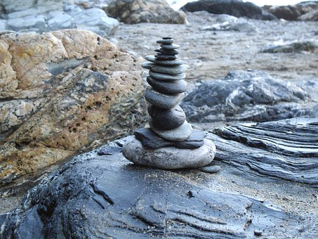 Stone Stack, Stones, Pebbles, Stone Sculpture, Rock
