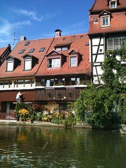 Bamberg, Small - Venice, Fishermen's Quarter, Romantic
