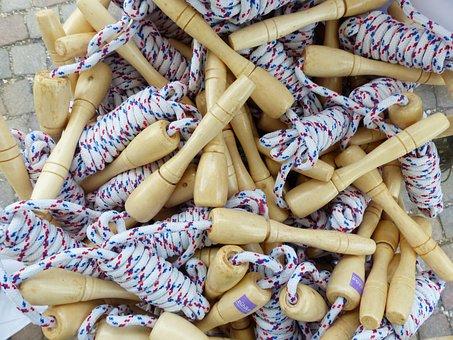 Ropes, Jumping Rope, Jumping Ropes, Sport, Play