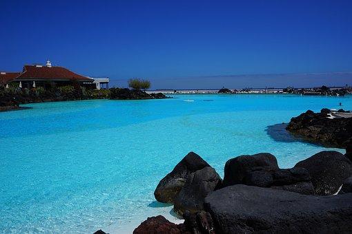 Sea Water Swimming Pool, Swimming Pool, Lago Martiánez