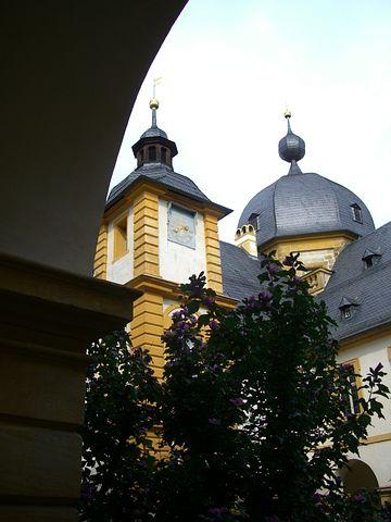 Schloss Seehof, Memmelsdorf, Gateway Arch Views, Spire