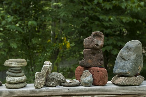 Rocks, Sculpture, Stones, Pebbles, Rock, Stone