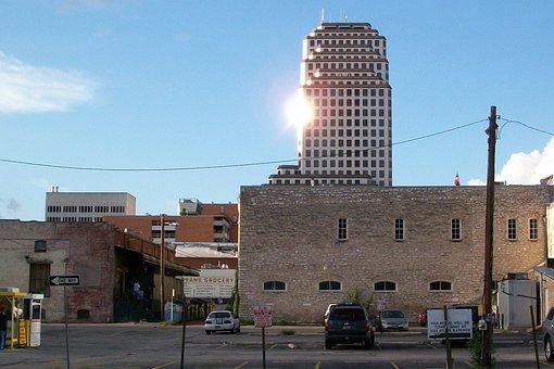Texas, Downtown, Austin, Skyline, Cityscape, City