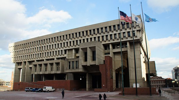 Boston, Government Center, Massachusetts, Architecture