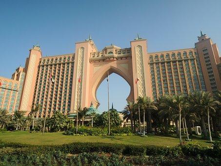 Dubai, Uae, Emirates, Emirate, Desert, Atlantis, Hotel