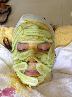 Cucumber, Cucumber Facial, Facial Treatment
