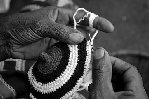 Weaving, Handmade Hat, African